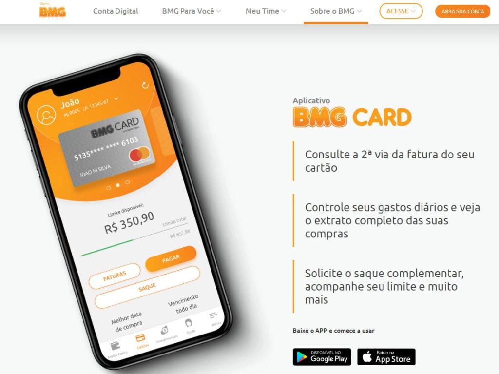 limite-saldo-extrato-segunda-via-app-cartao-bmg-card pesado