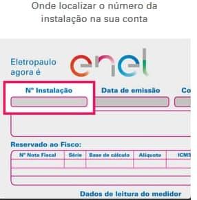 eletropaulo-enel-numero-instalacao